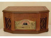 Retro HIFI / Stereo - Plays Records, tapes, CDs and radio - Mint Condition - Great Xmas Present!