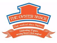 THE OYSTER SHACK - CHEF DE PARTIE, PASTRY - Full time position £18-20,000 + generous tip share