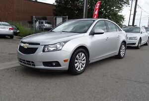 2012 Chevrolet Cruze LT Turbo w/1SA.Carproof Clean.Warranty avai
