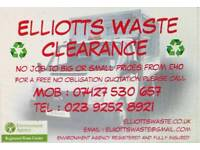 Professional waste and rubbish clearance