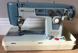 Jones Brother Zig Zag Heavy Duty Sewing Machine - Serviced With Warranty - UK Delivery