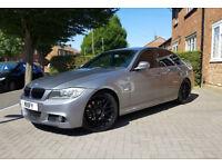 "2010 (10) BMW 320d M Sport Business Edition - Sat Nav, Heated Leather, FBMWSH, 19"" CSL Style Alloys"