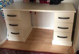 White wooden dresser