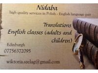 ENGLISH LESSONS/ALL LEVELS/ DIFFERENT AGE GROUPS