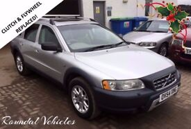 REPLACEMENT CLUTCH AND FLYWHEEL! Volvo XC70 Cross Country 2.4 D5 SE LUX 7SEAT 4x4 estate, mot Apr 18