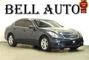 2013 Infiniti G37X LUXURY AWD LEATHER SUNROOF