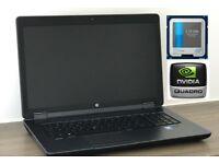 HP Zbook 17, i7 Quad 3.7GHz,32GB RAM+NVIDIA K4100M 4GB GDDR5 256Bit,SSD
