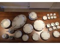 Bone China Dish Set 68 Piece
