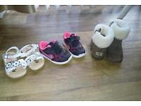 Girls shoes&boots. Size 4&5