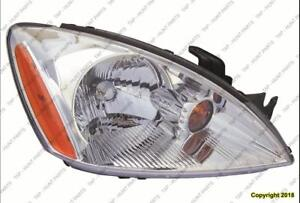 Head Lamp Passenger Side Chrome Bezel Exclude Ralliart Mitsubishi Lancer 2004-2007