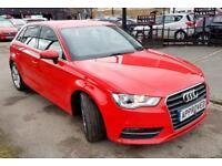 AUDI A3 1.6 TDI SPORT 5d 109 BHP Apply for finance Online today! (red) 2015