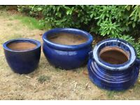 Plant Pot Set - great condition