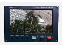 "Datavideo TLM-700 7"" SD TFT LCD Monitor for Field Monitoring"