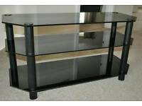 GLASS TV CABINET ,,LARGE