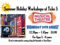 kids musical theatre workshop