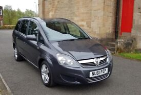 2011 Vauxhall Zafira Exclusive ⭐ Wheelchair Accessible ⭐ Free Delivery