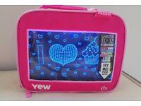Brand New Light up pink heart lunch bag