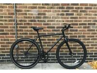 All Black Fixie Single Speed Bike