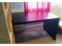 IKEA Expedit (Kallax) Desk / Black Brown Wood Finish / Great Condition!