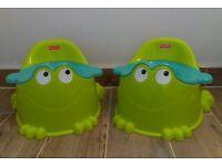 2 Fisher-Price potties
