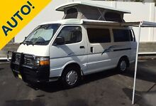 Toyota Hiace Pop-top Campervan AUTOMATIC by Discoverer Campers Brookvale Manly Area Preview