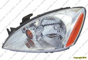 Head Light Driver Sidechrome Bezel Exclude Ralliart High Quality Mitsubishi Lancer 2004-2007