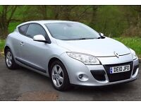 2010 Renault Megane Coupe Dynamique TomTom 1.5DCI, New MOT & Service, 52k Miles, Nav (YouTube Video)