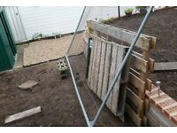 Heras Fence Panel with feet