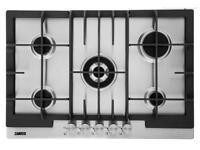 Zanussi ZGG76524XS 74cm Gas Hob - Stainless Steel