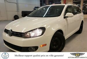 2013 Volkswagen Golf Wagon TDI DSG Highline Cuir/Toit $70/Semain