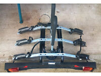 Thule 3-Bike towbar mounted carrier as new never used