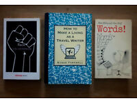 BOOK BUNDLE - How To Make a Living As A Travel Writer, Words!, Race