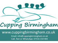 MOBILE CUPPING/HIJAMA SERVICE, HOME OR WORK VISITS ACROSS BIRMINGHAM & SOLIHULL, MALE & FEMALE