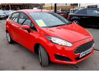 FORD FIESTA 1.2 STYLE 5d 81 BHP Car Finance Experts, Apply Now (red) 2014