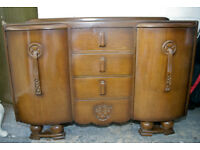 Art Deco Sideboard in Oak c1950`s
