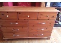 Pine Drawers.