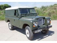 Land Rover Series 3 109 2.25 petrol Ex Military Classic Land Rover 4x4