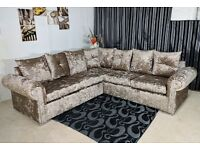 BRAND NEW GLP DUAL ARM CORNER SOFA ON SPECIAL OFFER (w/ ONE YEAR WARRANTY)