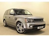 LAND ROVER RANGE ROVER SPORT 3.0 TDV6 HSE 5d AUTO 245 BHP + ONLY 1 OWNER FROM NEW (grey) 2011