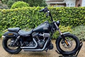 Harley Davidson FXDB Street Bob 2015