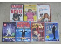 *SEALED* Comedy DVD Bundle MICHAEL McINTYRE Lee Evans KEVIN BRIDGES & more - will separate