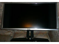 "Dell W1900 19"" 720p HD LCD Television - PC Monitor with Speakers - used"