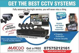 Full HD CCTV System, Quick Remote Access, Hi-Resolution, Superior Day and Night Vision.