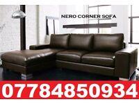 PRE XMAS DELIVERY - NEYRO LEATHER CORNER SOFA gtg