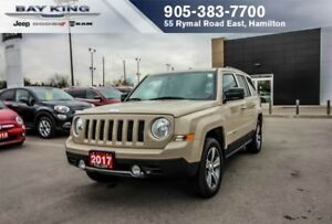 2017 Jeep Patriot SPORT HIGH ALT 4X4, HTD LEATHER, SUNROOF, A/C
