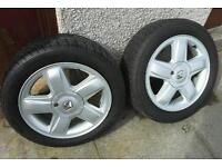Winter wheels and tyres