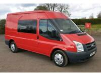 4e6dbb4800 FORD TRANSIT 115 T280 2.2 TDCI MWB MEDIUM ROOF 2011 CREW VAN ☆FULL MOT☆