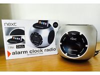 Alarm clock radio for iPhone & iPod