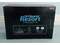 Nintendo Wii - Black Sports Resort edition and 10 games