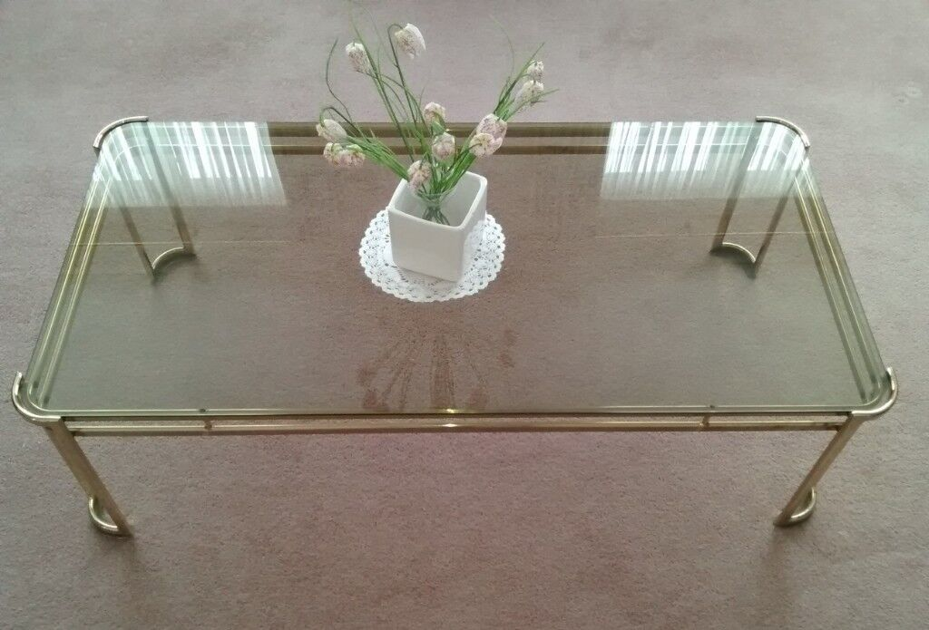 Oblong Coffee Table Excellent Condition
